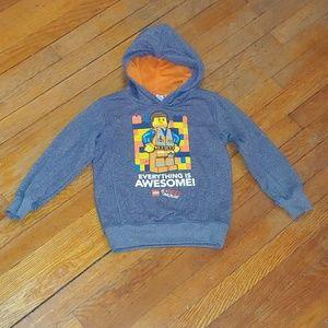 The Lego Movie Emmet hoodie size 5/6